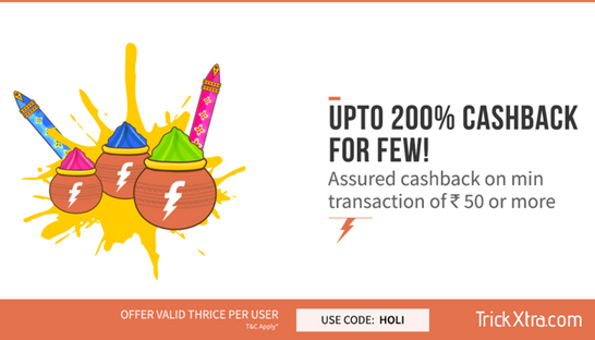 (Big Loot ) Freecharge  100% CashBack Offers | Recharges & Bill Paymen...